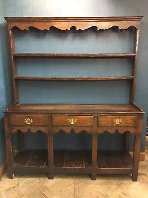 Early 19th Century Welsh Oak Pot Board Dresser - Delivery Available
