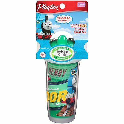 Playtex PlayTime Thomas the Tank Engine Train & Friends Insulated Spout Cup
