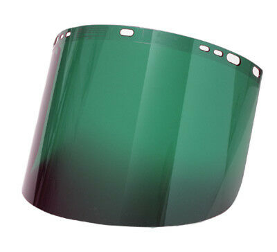 Radnor Green Shade 5 Polycarbonate Faceshield,8'' X 15 1/2'' X .060''