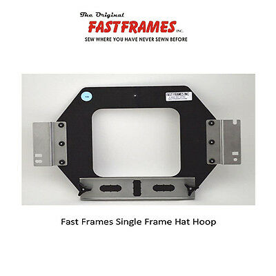 FAST FRAMES FLAT Hat Hoop For Janome MB4 MB4s MB7 Embroidery Machine ...