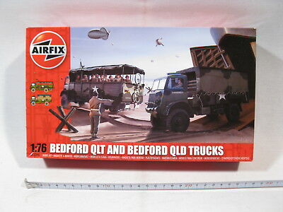 Airfix 03306  Bedford QLT and Trucks  1:76  sealed in box  mb3977