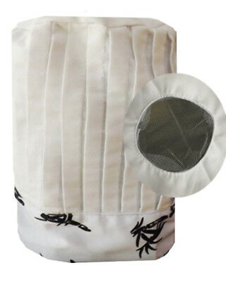 Hibachi chef pleated tall hat, Chef Tall Hats, Chef Pleated Tall Hats, NEW
