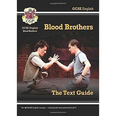 GCSE English Text Guide - Blood Brothers by CGP Books 9781782943112