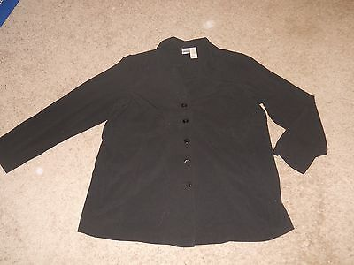 Duo Maternity Black Blazer Jacket - Size XL
