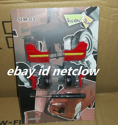 Transformers Shadow Fisher SFM-03 upgrade Kit for MP-27 Ironhide in Stock