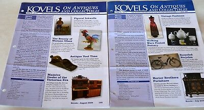 2  KOVELS ON ANTIQUES & COLLECTIBLES Newsletters July & August 2009 Vol 35 11 12