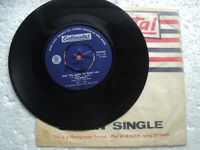 The Equals - Rub a dub dub/ After the lights go... Rare S.Africa 45 RPM