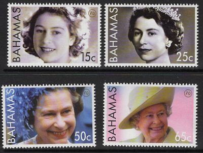 BAHAMAS SG1414/7 2006 80th BIRTHDAY OF QEII MNH