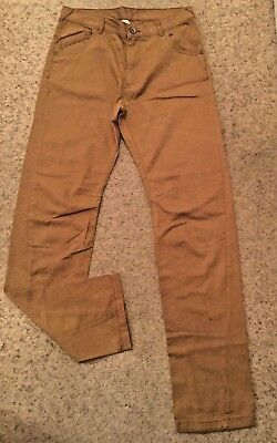 Boys Twisted Seam Jeans From George  Age 12-13 Years  Ex Cond