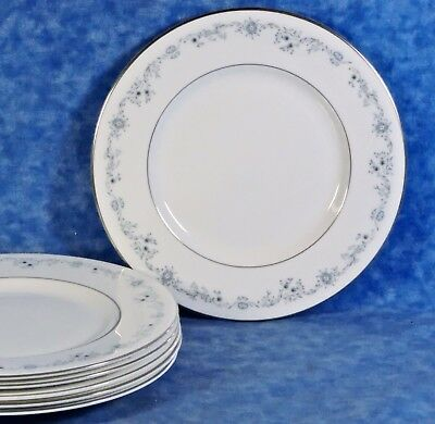6 Royal Doulton ANGELIQUE English Fine Bone China Salad Plates- EUC