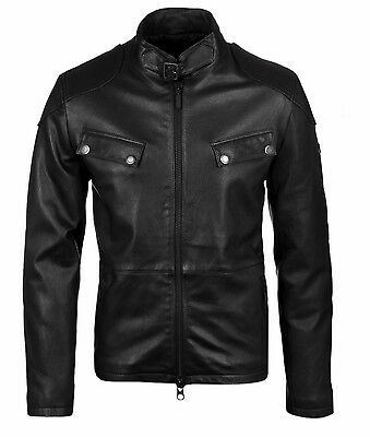 Brand New Barbour International Intl Traction Leather Jacket