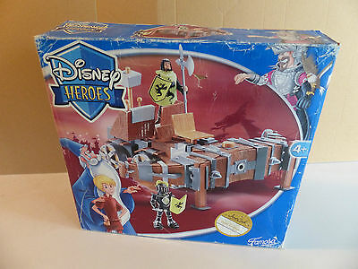 Famosa Spain - Disney Heroes Arthur/Merlin Catapult Playset MISB - NOS