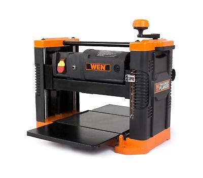 "WEN 6550 12.5"" 15A Benchtop Thickness Planer/Granite Table Woodworking Shop Tool"