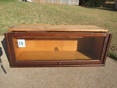 Oak Globe Wernicke D-10  1/4  Bookcase Section 299