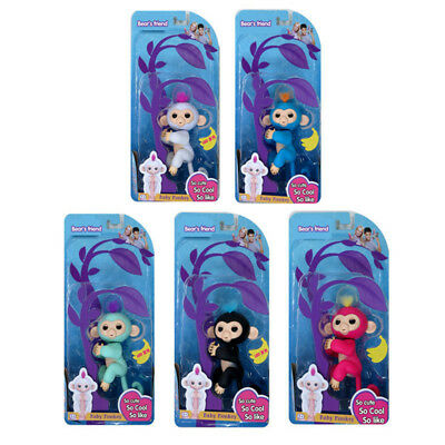 Finger Interactive LED Baby Monkey Best Toys Kids Gifts