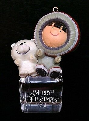 1980 Hallmark Frosty Friends A Cool Yule Christmas Ornament First 1st in Series