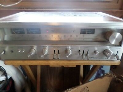 Vintage Pioneer SX780 Sterio Receiver- needs cleaned and power relay