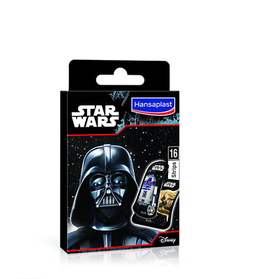 Hansaplast Disney Star Wars Pack de 16 Pansements - Lot de 4