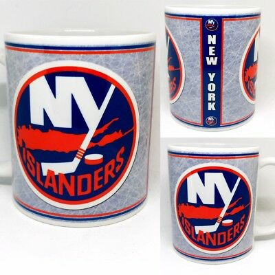 Custom Made New York Islanders 11oz Coffee Mug Personalized with your name