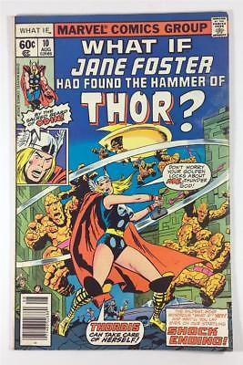 Marvel What If #10 in 4.0 VG Condition  - Jane Foster found the Hammer of Thor?