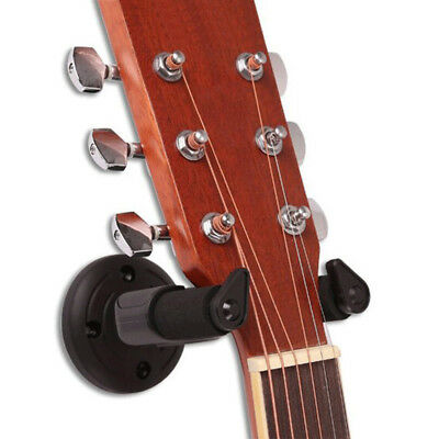 Guitar Hanger Hook Holder Wall Mount Display Stand Bracket String Instruments