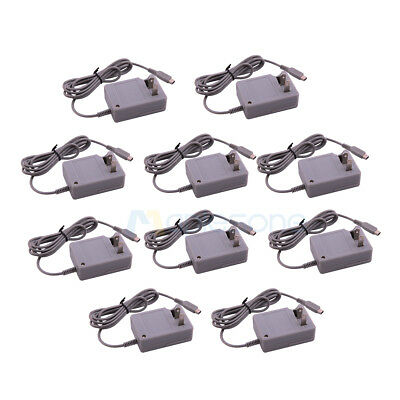 10x/Lot AC Home Wall Power Adapter Charger Cable For Nintendo NDSi XL/LL 3DS US