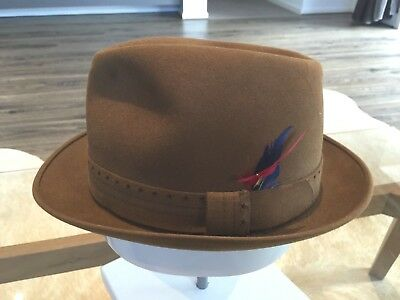 "Vintage 1950s ROYAL STETSON ""Mustang"" GENTLEMAN'S HAT"
