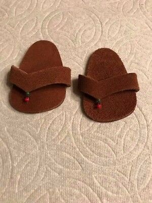 Pleasant CompanyAmerican Girl Doll Clothes Shoes Kwanzaa Outfit Sandals Retired