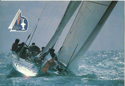 Postcard, America's Cup Race, Victory 83, Italian Syndicate at Trials, Australia