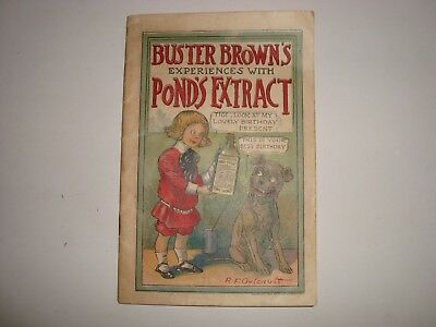 Vintage Buster Brown's Book Experiences with Pond's Extract ~ Great Condition