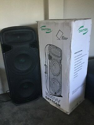 "Dj Party Speaker Dual 15"" 1600W"