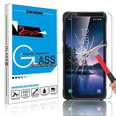 For Samsung Galaxy S8 Active Premium HD Tempered Glass Screen Protector 9H Guard