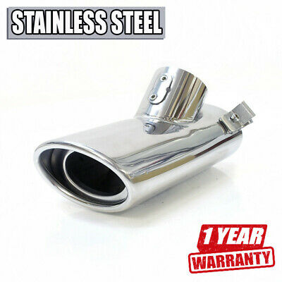 Sport Exhaust Tip Muffler Trim Pipe Stainless Steel For Mercedes W220 S Class
