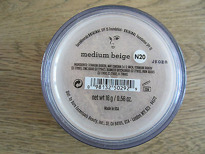bareminerals Original Foundation N 20 medium beige 16 g NEU Sondergröße