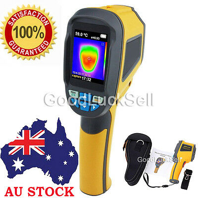 HT-02 Handheld Thermal Imaging Camera -20℃~300℃ IR Infrared Thermometer Image AU