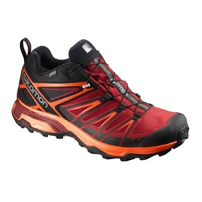 Salomon X Ultra 3 GTX rot/orange/schwarz - Herren Wanderschuhe Outdoor 398670