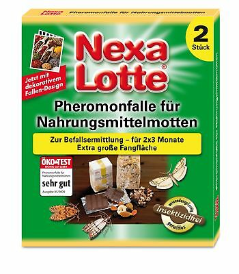 Scotts Nexa Lotte Pheromone Trap for Moths, 2 Pcs