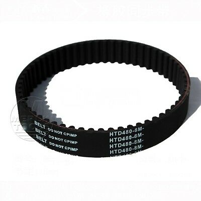 HTD 8M Timing Belt 8mm Pitch - 15 to 40mm Wide - 368 to 696 long - Select