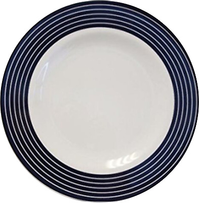 Set of 4 Anchor white melamine side plate plates SMALL