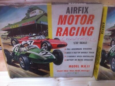 airfix vintage slot car set bundle