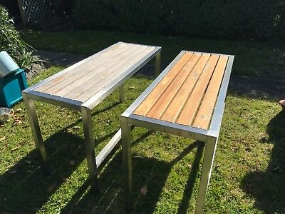 Stainless Steel Frame seats benches