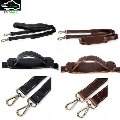 Adjustable Leather Shoulder Strap Replacement Fits Keepall Duffle Travel Bag NEW