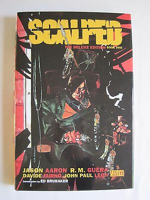 Scalped Book Two (Deluxe Edition) by Aaron and Guera (hbk)