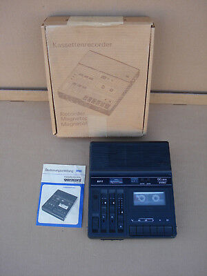 RFT / Geracord GC 6010 Stereo-Kassettenrecorder/ OVP / DDR / spielt ! / Paypal !