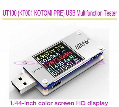 UT100 Dual USB Power Monitor QC2.0 QC3.0 PD TypeC PD tester Charging Voltage