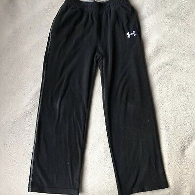 Black Fleece UNDER ARMOUR SWEATPANTS With Band Youth Sz 6 (#163)