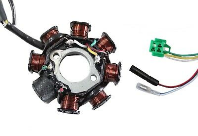 NEW -  8-Coil Stator Magneto GY6 50cc-150cc Scooter ATV Moped Alternator Chinese