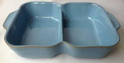 Denby Colonial Blue Sectioned Serving Dish
