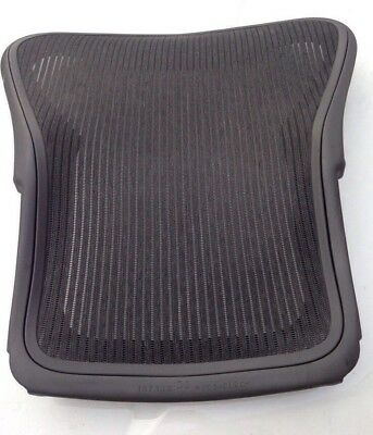 "Herman Miller Aeron Replacement Back Frame With Mesh Size ""B"" Medium Graphite"