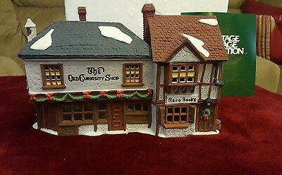 The Old Curiosity Shop Dickens' Christman Village Series Dept 56 #5905-6 Retired